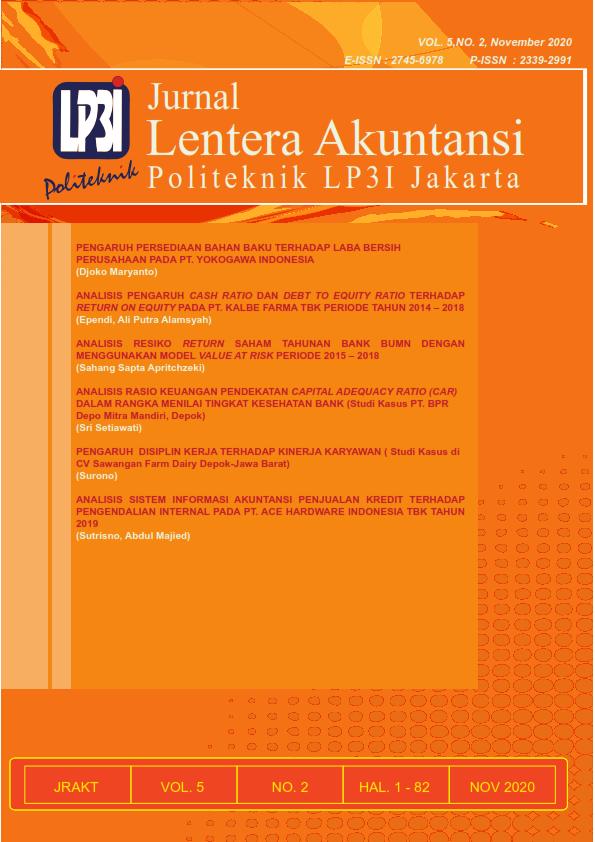 JRAKT (Volume 5 Nomor 2, November 2020)